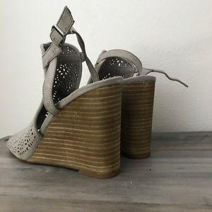 Carlos Santana Shoes - Carlos Santana Suede Wedges New Size 10